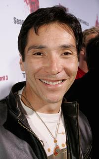 Benito Martinez at the Shield seasons 5 and 6 DVD launch party.