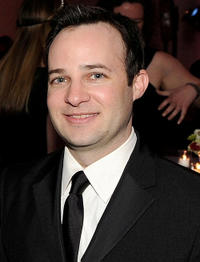 Danny Strong at the TIME/CNN/People/Fortune White House Correspondents' dinner cocktail party in DC.