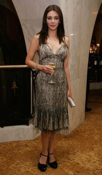 Lisa Ray at the 9th annual Costume Designers Guild Awards VIP reception.