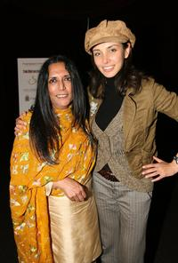 Deepa Mehta and Lisa Ray at the after party of the screening of