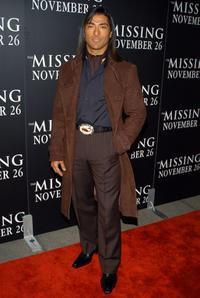 Jay Tavare at the premiere of