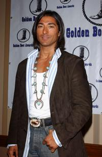 Jay Tavare at the Golden Boot Awards.