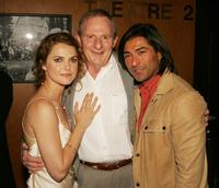 Keri Russell, Director Simon Wincer and Jay Tavare at the after party of the premiere of