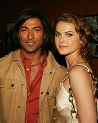 Jay Tavare and Keri Russell at the afterparty of the premiere of