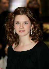 Bonnie Wright at the world premiere of