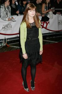 Bonnie Wright at the National Movie Awards.