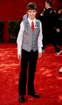 Alexander Gould at the 61st Primetime Emmy Awards in California.