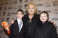 Alexander Gould, Doris Roberts and Angus T. Jones at the 18th Annual Genesis Awards.