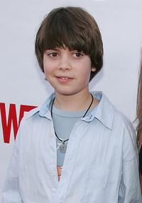 Alexander Gould at the premiere of