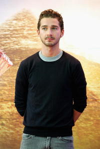 Shia LaBeouf at the press conference of