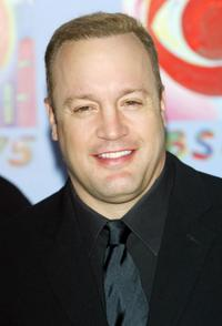 Kevin James at the CBS At 75 celebration.