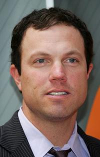 Adam Baldwin at the NBC Upfronts at Radio City Music Hall.