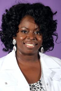 Angie Stone at the 2007 BET Awards.