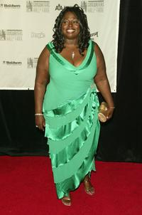 Angie Stone at the 2005 Songwriters Hall Of Fame induction ceremony.
