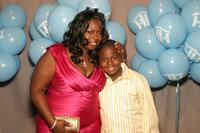 Angie Stone and Michael Stone at the Mother Hale awards for caring gala.