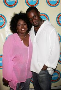 Angie Stone and Frederick Morton at the Tempo launch event.