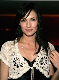 Famke Janssen at the opening night of