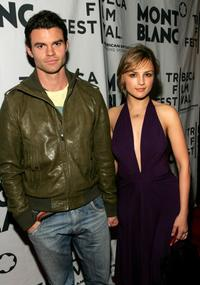 Daniel Gillies and Rachael Leigh Cook at the Montblanc De La Culture Award.