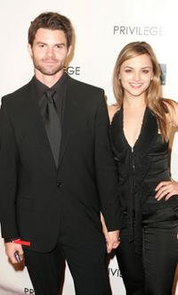 Daniel Gillies and Rachael Leigh Cook at the premiere of