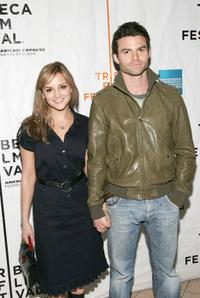 Rachel Leigh Cook and Daniel Gillies at the premiere of