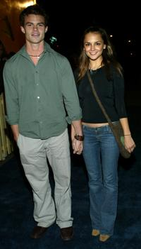 Daniel Gillies and Rachael Leah Cook at the premiere of