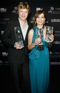 Luke Ford and director Elissa Down at the L'Oreal Paris 2008 AFI Awards.