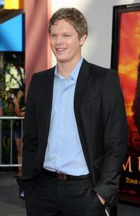 Luke Ford at the premiere of