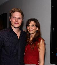 Luke Ford and Elissa Down at the Screening of