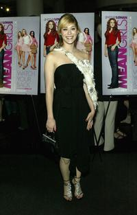 Lizzy Caplan at the private screening of