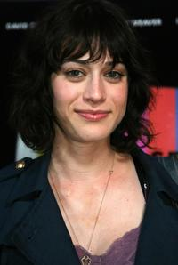 Lizzy Caplan at the premiere of