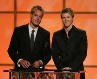 Justin Hartley and Thad Luckinbill at the 32nd Annual Daytime Emmy Awards.