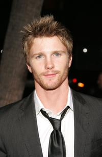 Thad Luckinbill at the World premiere of