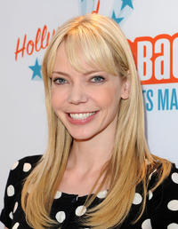 Riki Lindhome at the Malaria No More Presents: Hollywood Bites Back! in California.