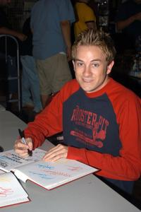 Tom Lenk at the Los Angeles Comic Book and Science Fiction Convention.