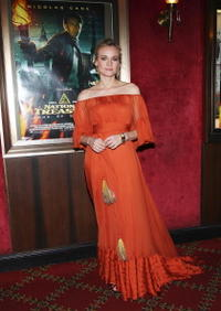 Actress Diane Kruger at the N.Y. premiere of