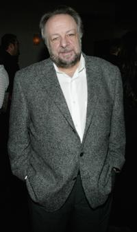 Ricky Jay at the opening night of the play