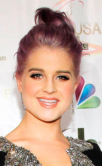 Kelly Osbourne at the 2012 Miss USA pageant in Nevada.