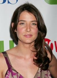 Cobie Smulders at the CW/CBS/Showtime/CBS Television TCA party.