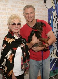 Shirley Jones and Patrick Cassidy at the Sixth Annual Broadway Barks Adoption Event.