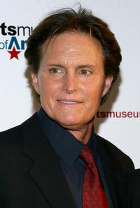 Bruce Jenner at the Sports Museum of America opening night gala.