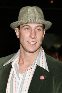 Pablo Schreiber at the opening night of Talk Radio.