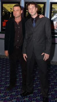 Liev Schreiber and Pablo Schreiber at the screening of