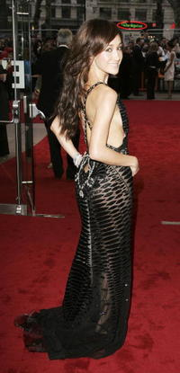 Maggie Q at the UK premiere of 'Mission: Impossible III'