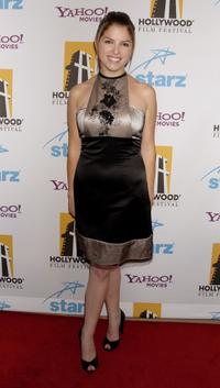 Anna Kendrick at the 11th Annual Hollywood Awards.