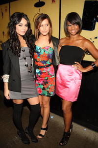 Vanessa Hudgens, Ashley Tisdale and Monique Coleman at the MTV's