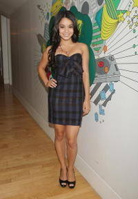 Vanessa Hudgens at the MTV's Total Request Live.