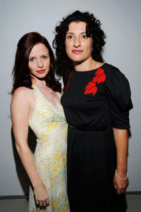 Hani Furstenberg and director Julia Loktev at the Canada premiere of