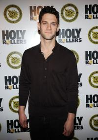 Justin Bartha at the New York premiere of