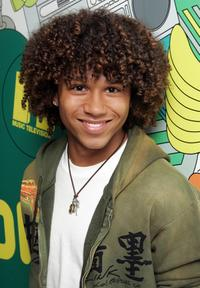 Corbin Bleu at the MTV's Total Request Live.