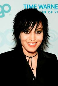 Joan Jett at the launch party for MTV Network's LOGO Channel.